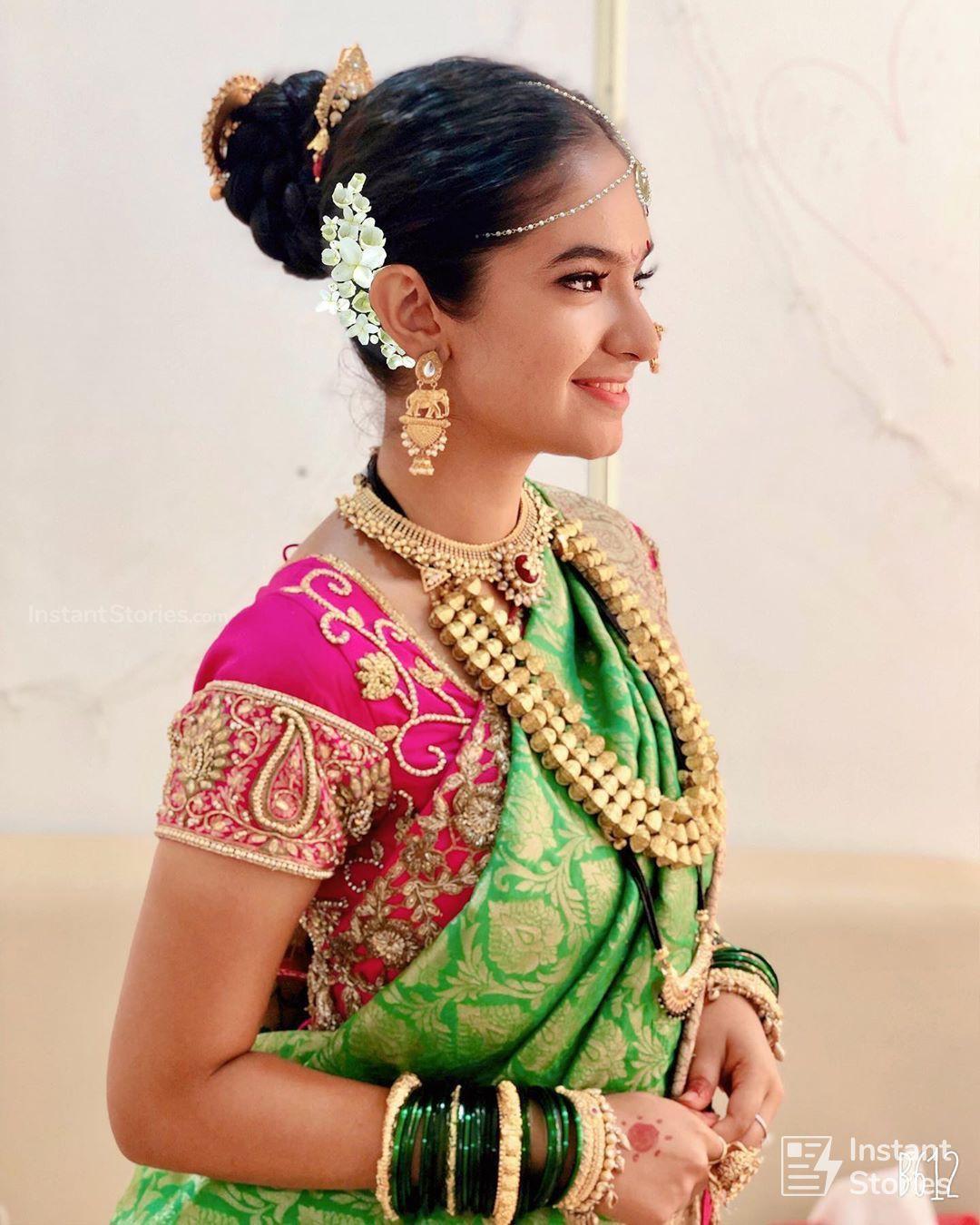Anushka Sen Latest Beautiful Hot Hd Photoshoot In Saree Anushka Sen In Saree