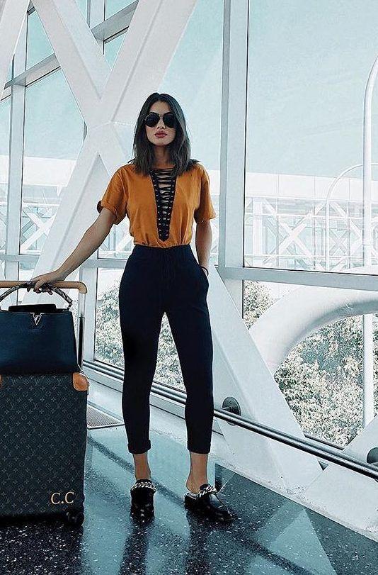 Outfit para viajar a europa