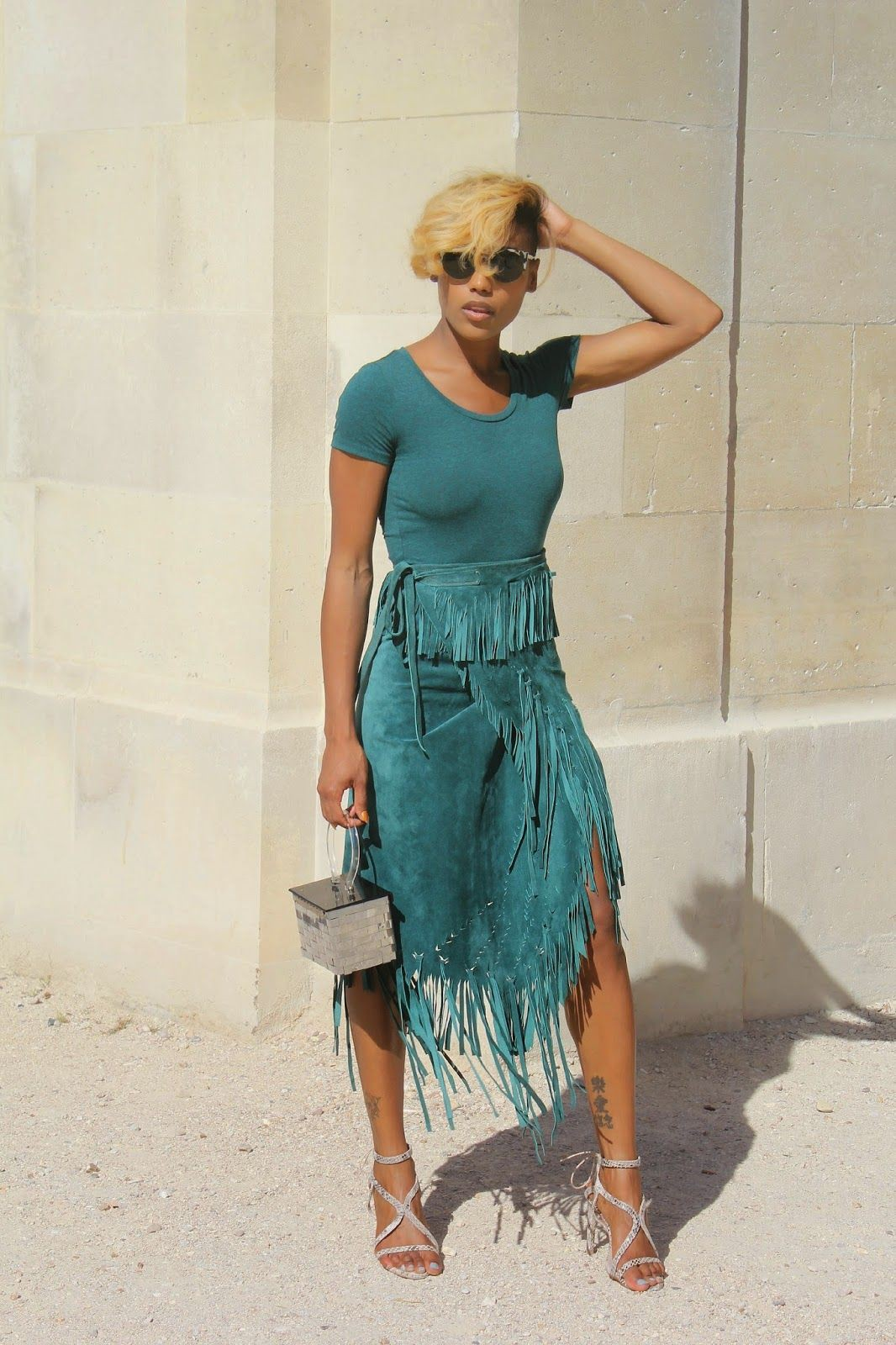 Turquoise attire ideas with