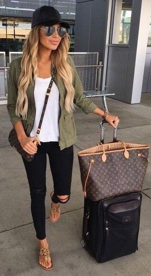 Colour ideas best travel outfits, street fashion, birkin bag, las vegas, cancún