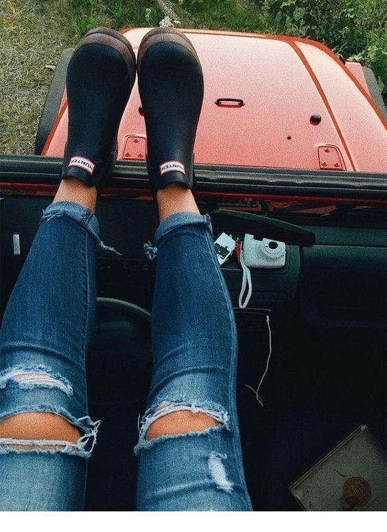 Dresses ideas with denim, jeans