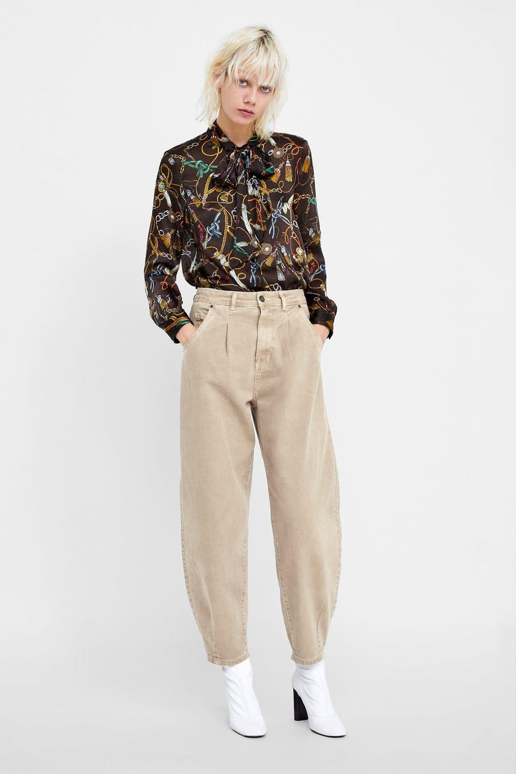 Lookbook dress zara pantalon femme 2019, fashion model, t shirt