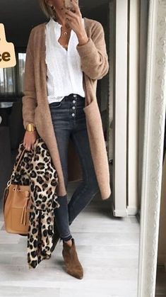 Brown colour dress with business casual