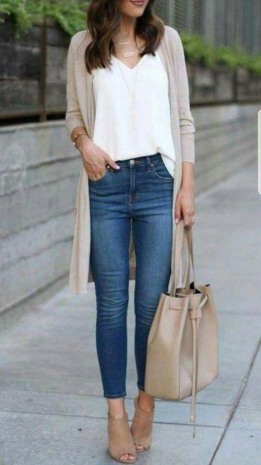 Business casual jeans outfit slim fit pants, business casual