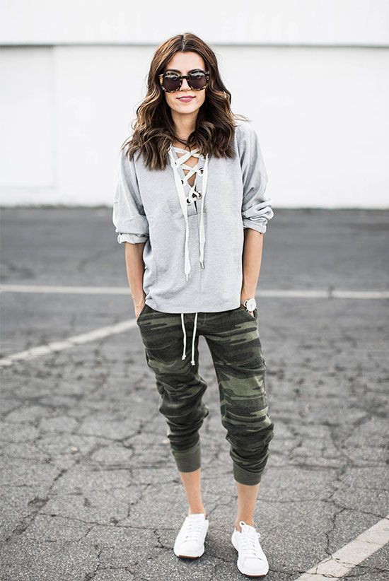 Colour outfit ideas 2020 camo joggers outfit, military camouflage, street fashion, camo joggers, ...