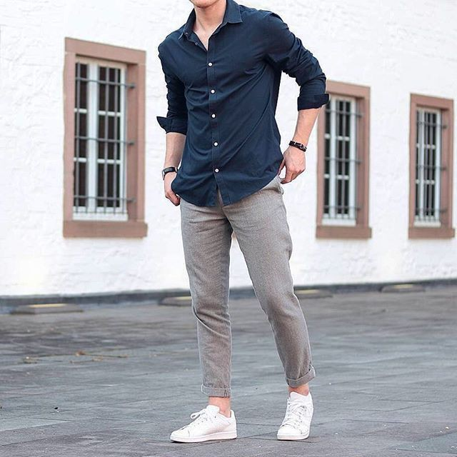 Style outfit men new style, business casual, street fashion, smart casual, formal wear, casual w ...