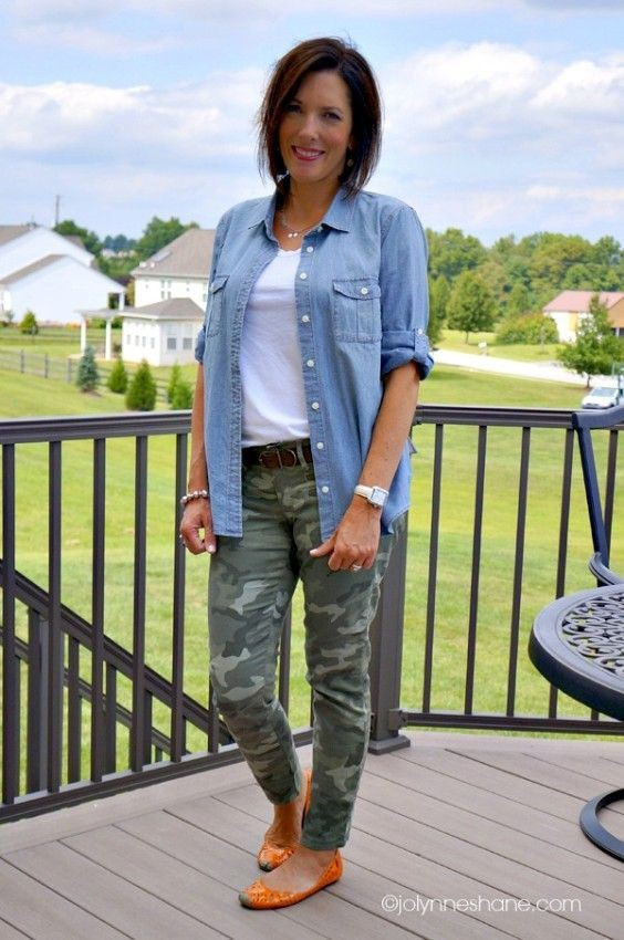 Outfits to wear with camo pants