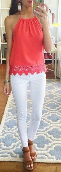 Summer preppy outfits for women