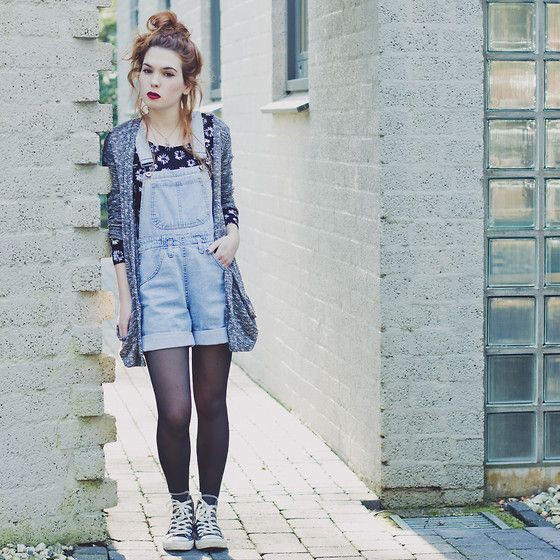 Blue outfit ideas with jean jacket, shorts, jeans
