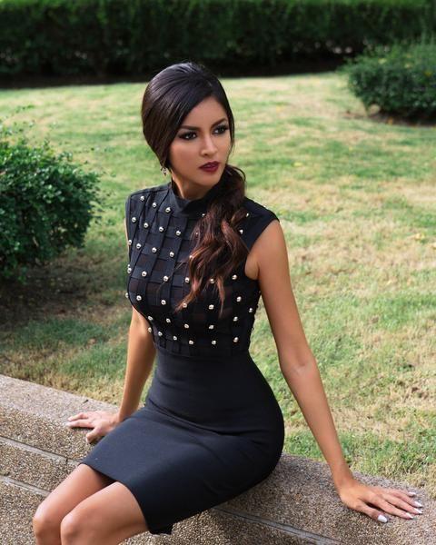 Black fashion nova collection with little black dress