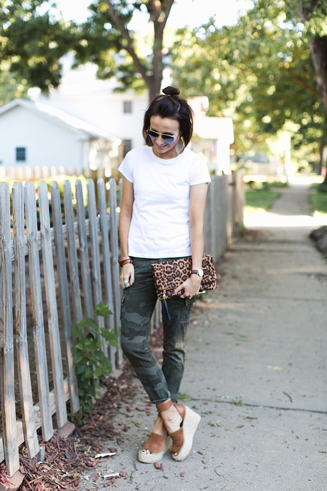 Yellow and white clothing ideas with leggings, shorts, denim