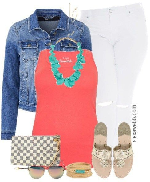 Turquoise and orange clothing ideas with trousers, skirt, denim