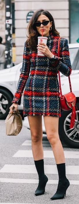 Colour outfit, you must try sock boot style, street fashion, boot socks, snow boot