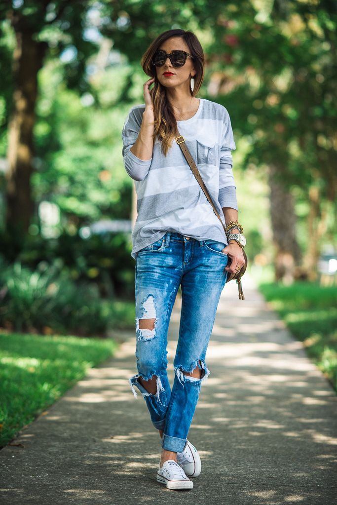 White trendy clothing ideas with trousers, shorts, denim