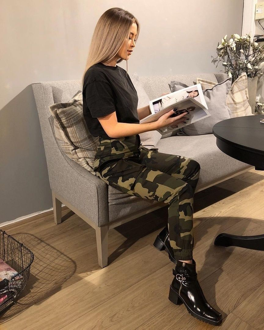 Outfit ideas camo baddie outfits hip hop fashion, military camouflage