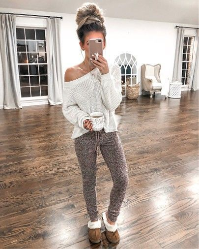 Cute lazy day outfits, fashion model, casual wear