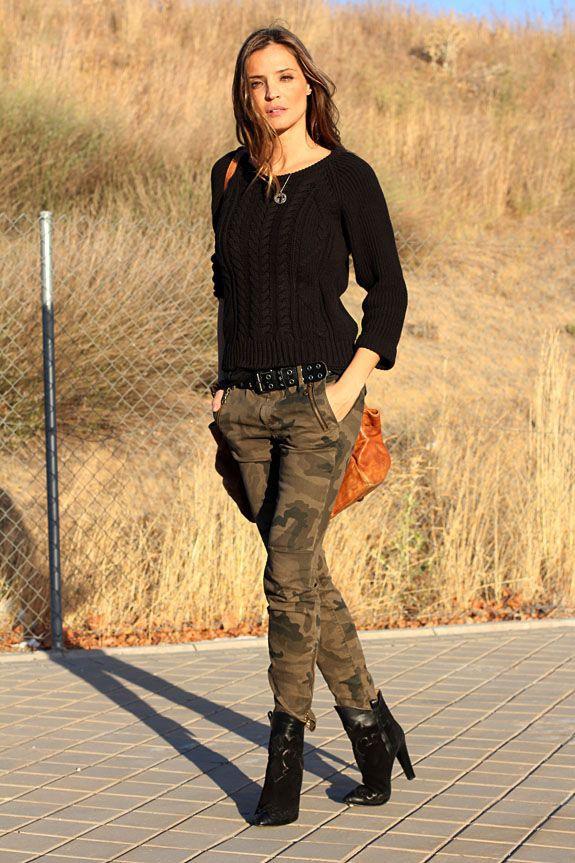 Pantalones De Camuflados De Mujer Camo Leggings Outfit Army Leggings Outfit Brown Outfit Ghillie Suit