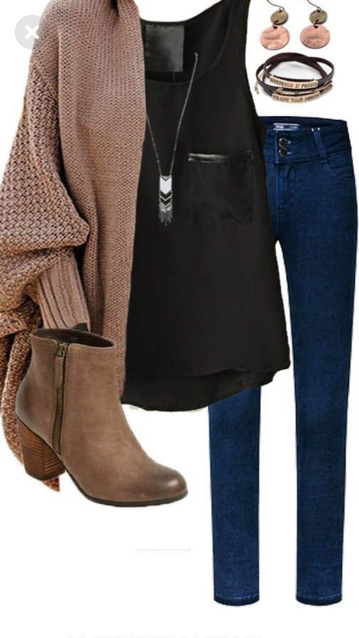 Beige and brown colour outfit, you must try with fashion accessory, leggings, denim