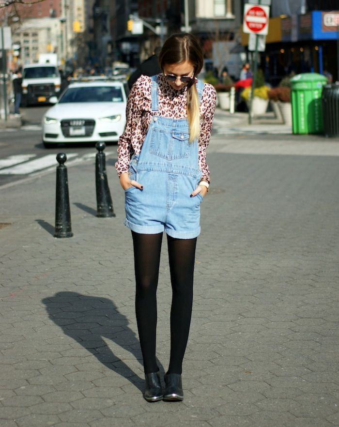 White and blue outfit instagram with shorts, jeans, denim