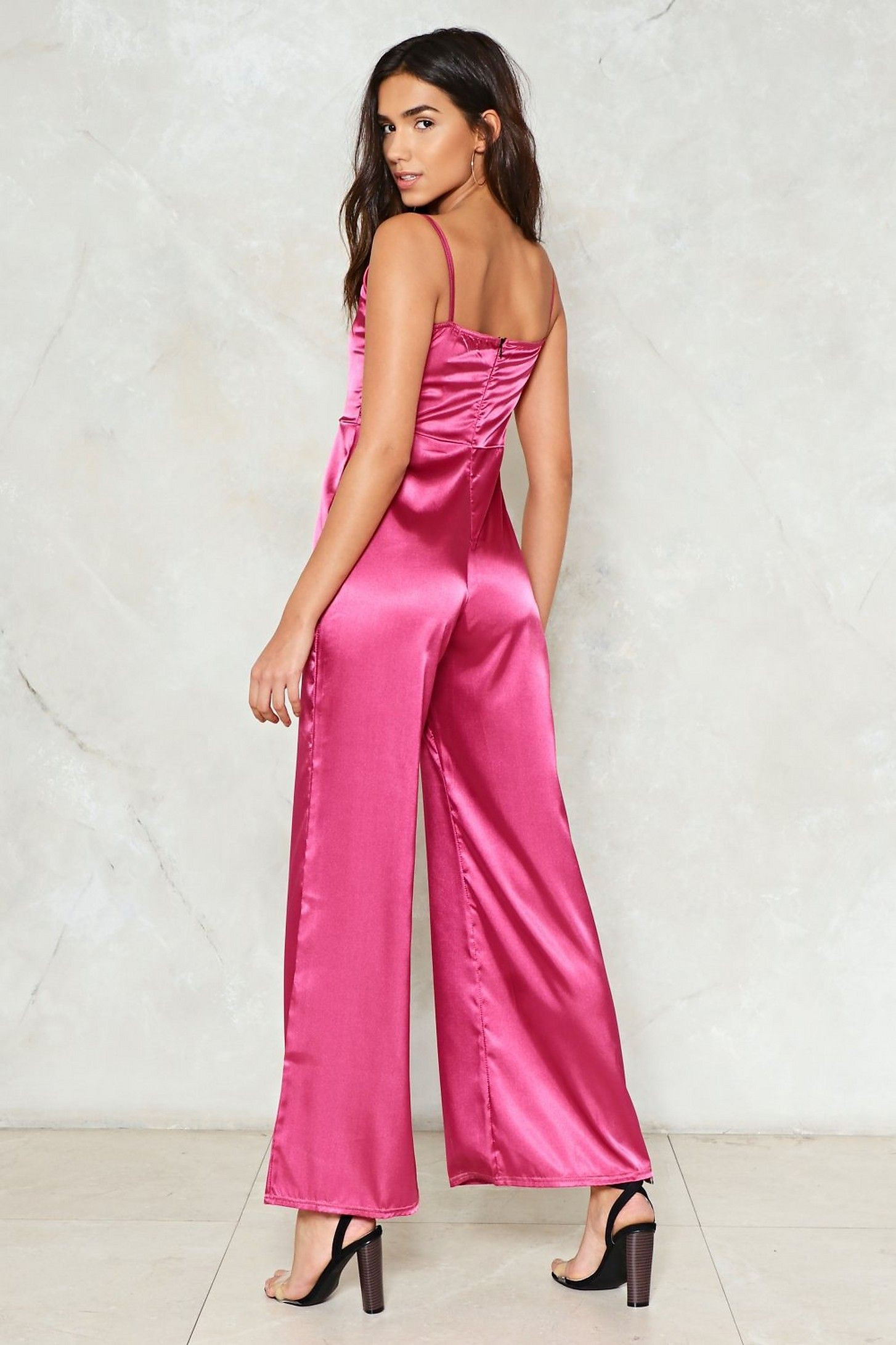Magenta and pink colour ideas with cocktail dress, romper suit, formal wear, trousers