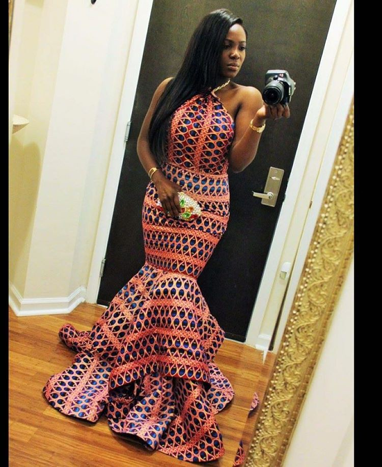 Wedding african dress styles african wax prints, wedding dress