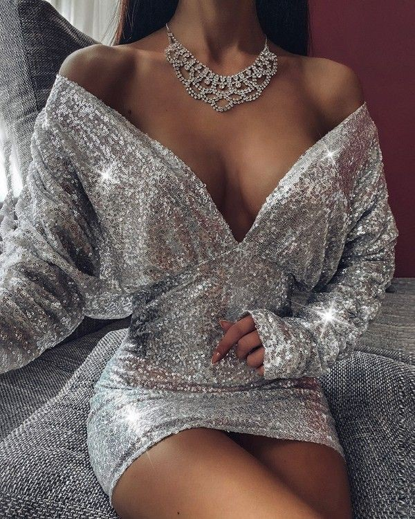 Silver outfit Pinterest with cocktail dress, party dress