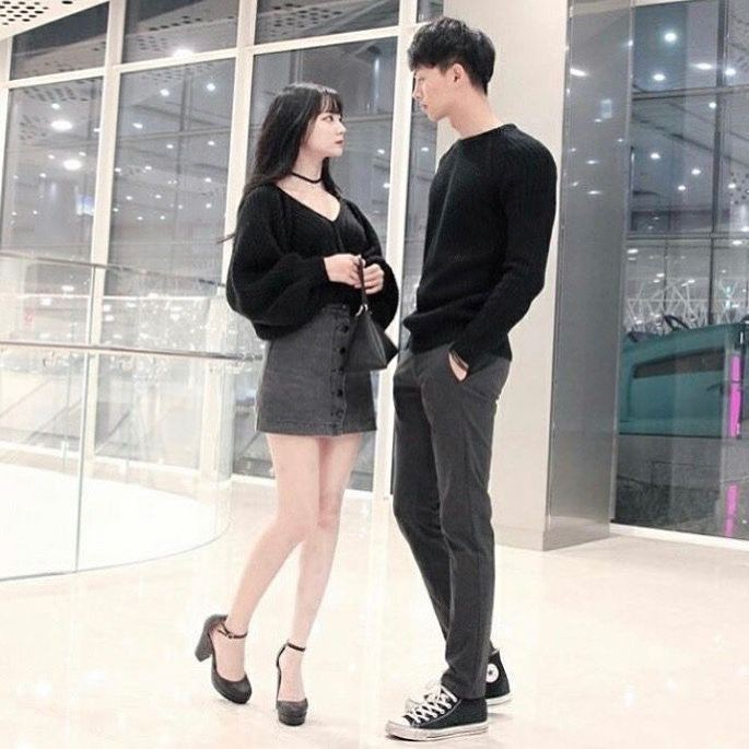 Colour outfit matching couple outfits little black dress, formal wear