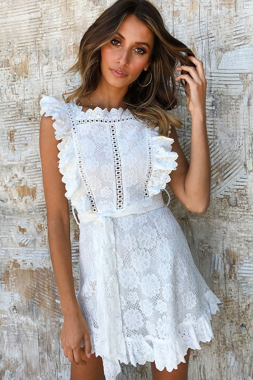 White dresses ideas with cocktail dress