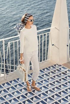 Outfit french riviera style, italian riviera, street fashion, saint tropez, dress code