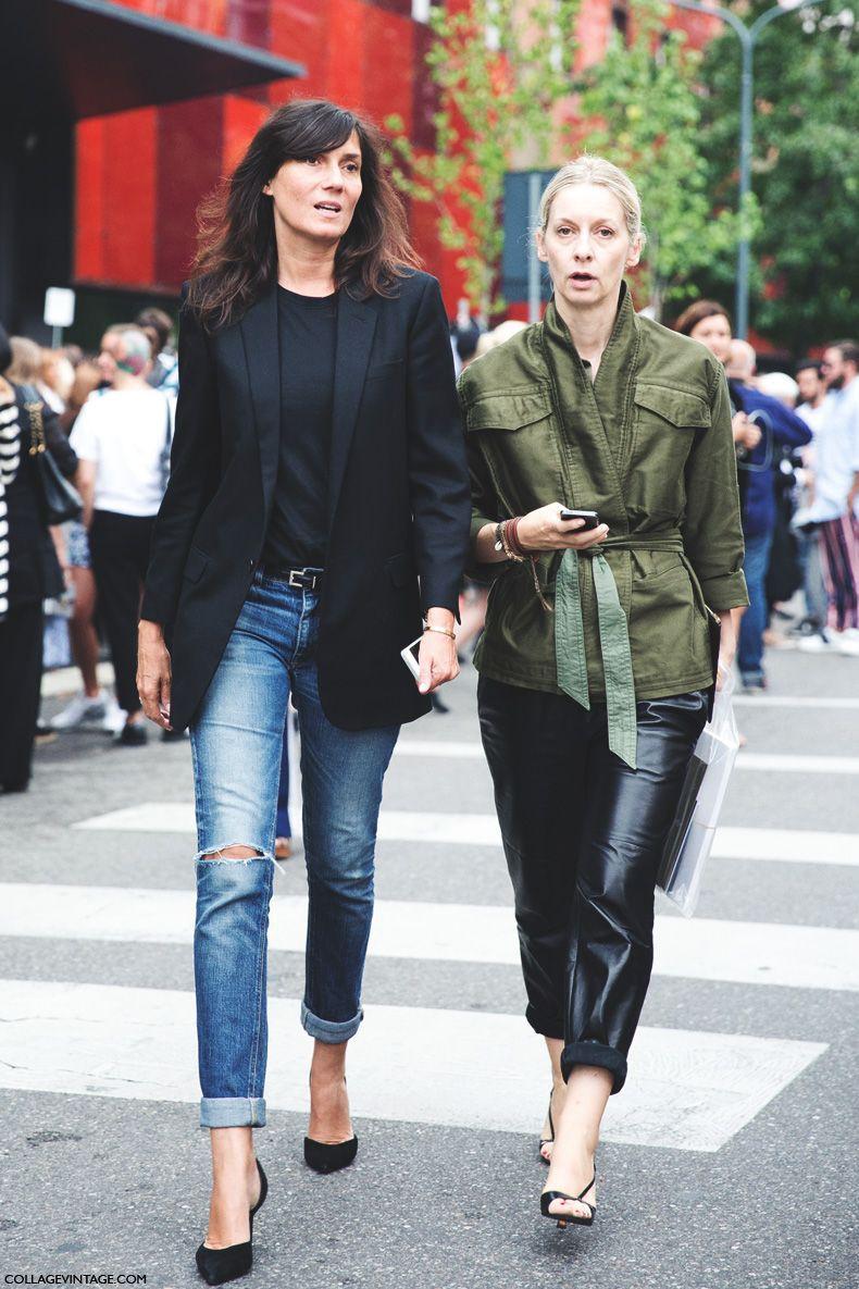 Emmanuelle alt skinny jeans, emmanuelle alt, street fashion, vogue paris