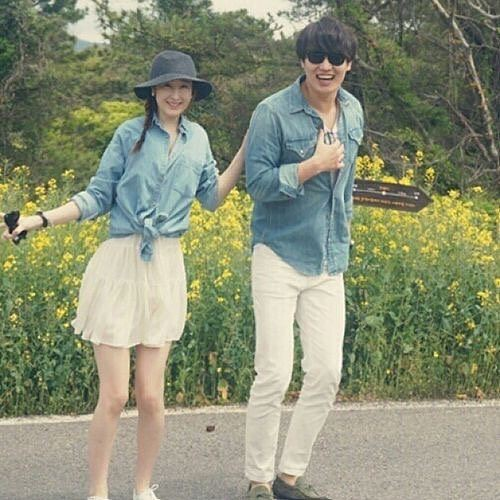 Matching casual couple outfits set shirt dress, street fashion