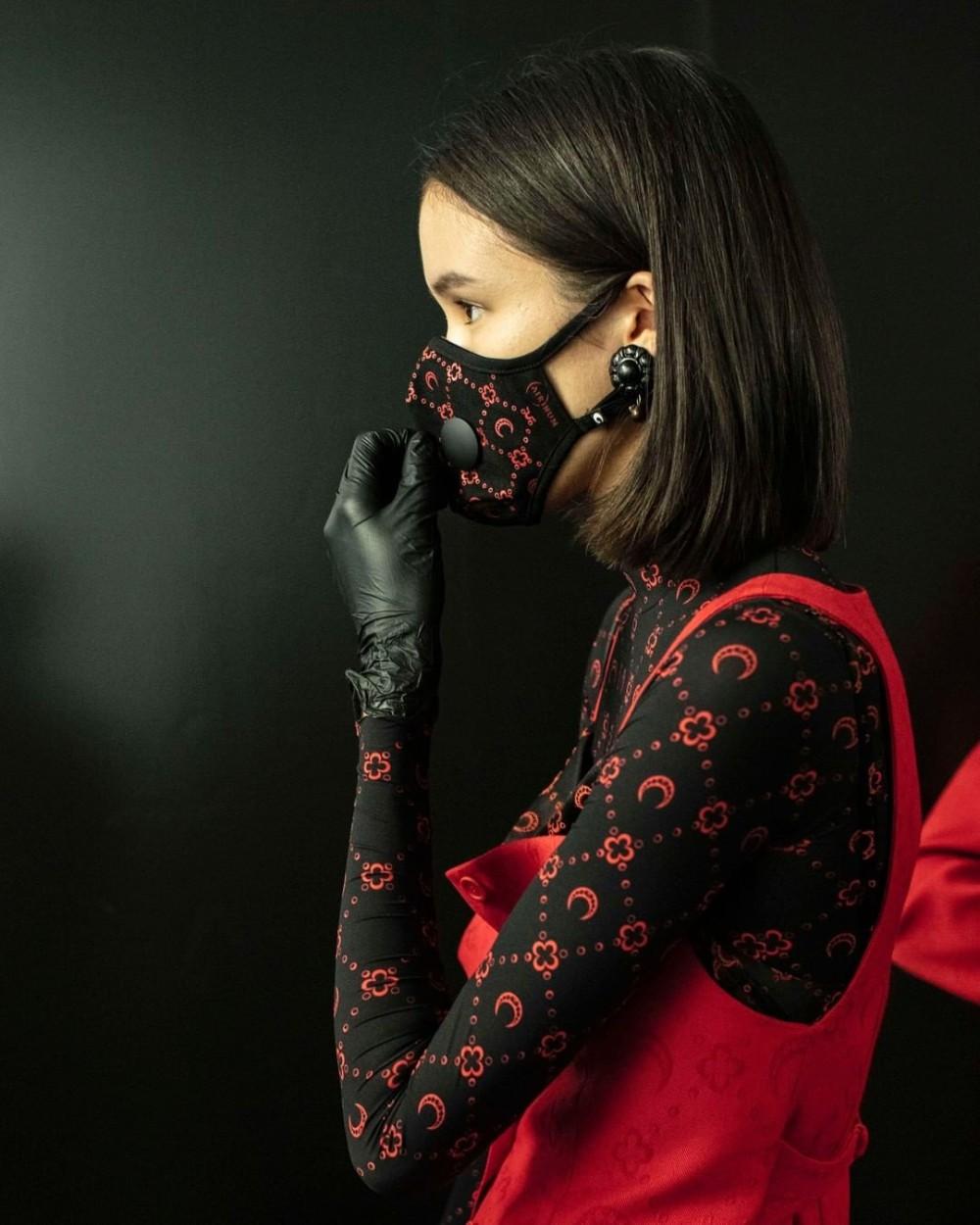 Outfit Pinterest marine serre airinum paris fashion week, fashion design