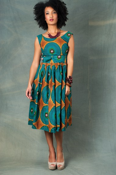 Old fashioned dresses african prints