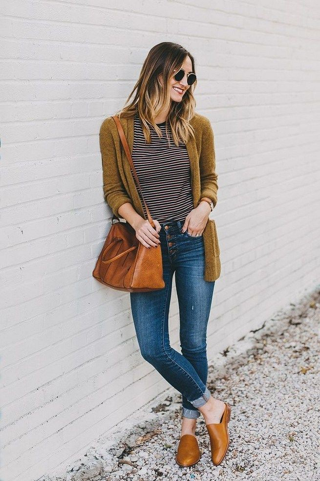 Brown dresses ideas with denim, jeans, fur