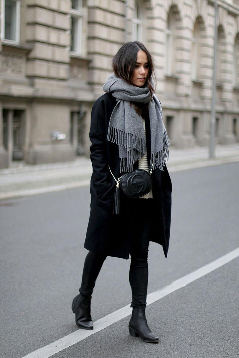 Outfit style classic winter look, vintage clothing, winter clothing, street fashion, casual wear