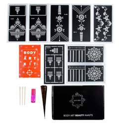 Matching Henna Tattoo Kit for Two People
