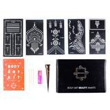 Henna Tattoo Kit with 5 Stencils of Your Choosing | Shop Mihenna