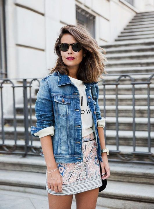 40 Stylish Denim Jacket Outfit Ideas for Spring   Summer Outfit Ideas 2020