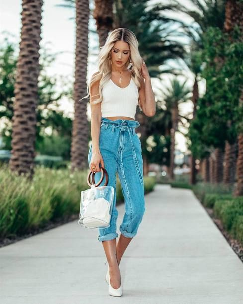 Find Out Where To Get The Jeans ♥ Stunning and stylish outfit ideas from Zefin… | Summer O ...