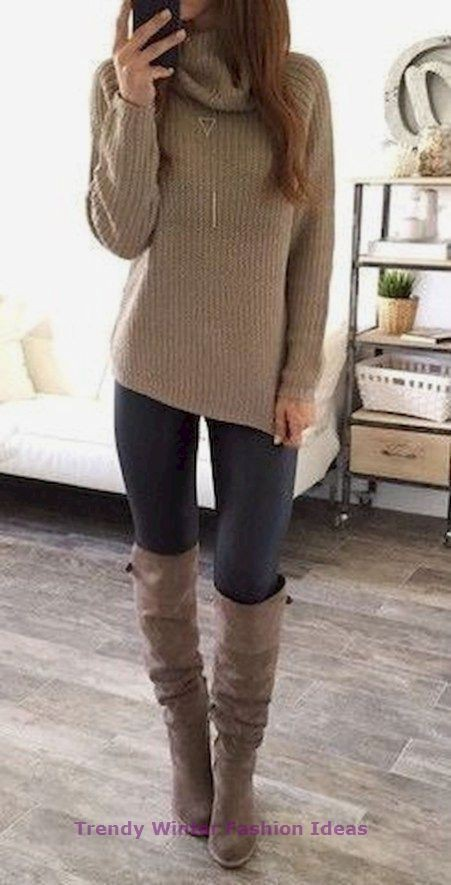 Style winter clothes for women