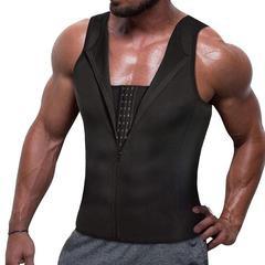 Men Compression Shirt Slimming Tank Top Body Shaper Undershirt – Nebility
